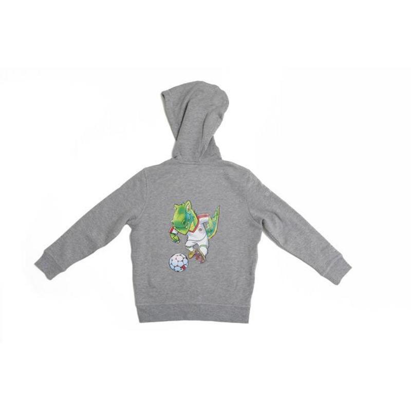 """Antwerp Hoodie Sweater - """"Dino"""" - Grijsmix - Kids"""