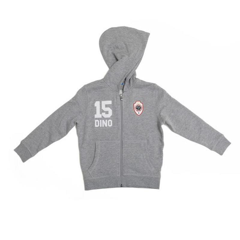 """Antwerp Jako Hoodie Sweater - """"Dino"""" - Grijsmix - Kids"""