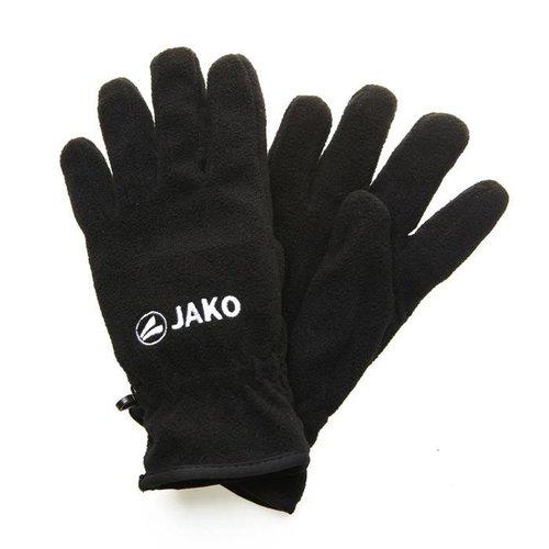JAKO Antwerp Fleece Handschoenen  - Zwart - Kids
