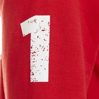 "Antwerp Official Sweater - ""Vintage Ball"" - Rood"