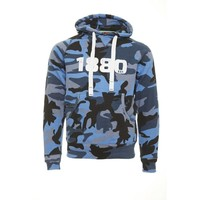 "Antwerp Official Hoodie Sweater - ""1880"" - Camouflage Navy"