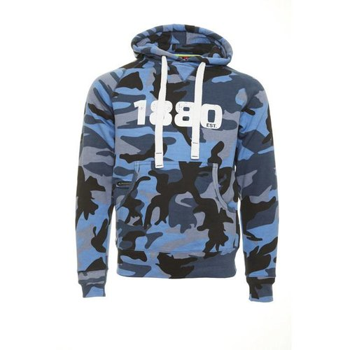 "Official Antwerp Official Hoodie Sweater - ""1880"" - Camouflage Navy"