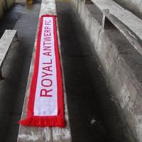 """Antwerp Official Sjaal - """"Royal Antwerp FC"""" - Wit/Rood"""