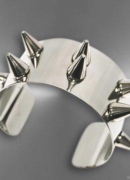 Armband RVS met stoere studs