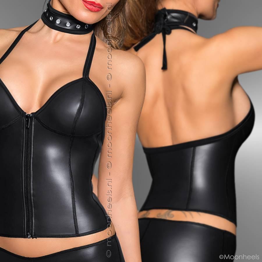 Kinky hotpants neopreen (rubber)