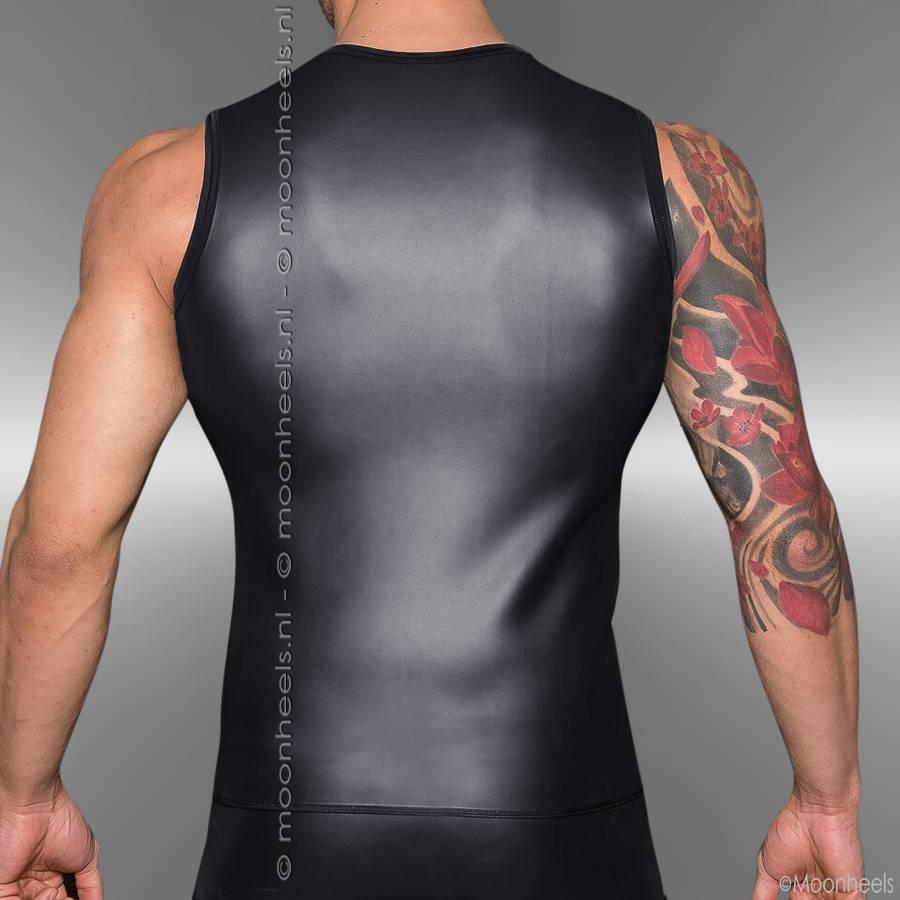 Rubber men's shirt black
