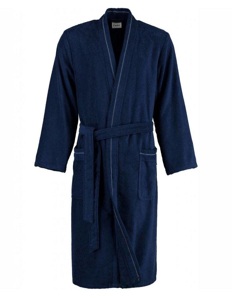 Cawö Cawo Heren Badjas Kimono 4511 Badstof