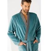 Cawö Cawo Heren Badjas 5840 Velours Kimono