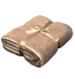 Unique Living Unique Living Coby Fleece Plaid Stone
