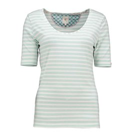 Pip Studio PiP Studio Tjess Mini Stripe  Top Short Sleeve