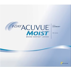Acuvue 1-Day Moist - 180 lenzen