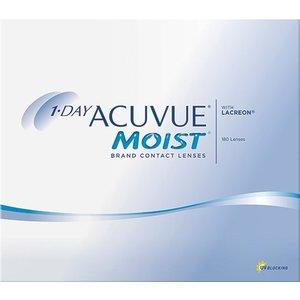 Acuvue 1-Day Moist - 180 Linsen