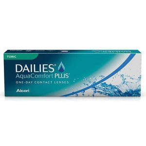Dailies AquaComfort Plus Toric - 30 lenzen