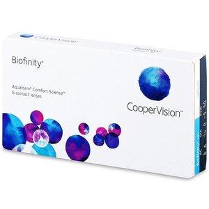 Biofinity - 6 lenses