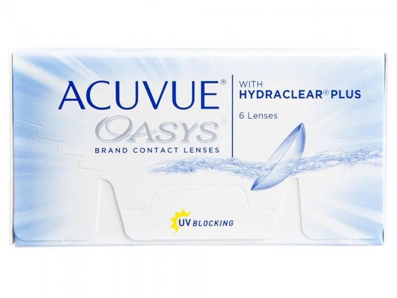 Acuvue Oasys - 6 lentilles. Les lentilles hebdomadaires Acuvue Oasys sont  des lentilles en silicone hydrogel de Johson   Johnson. 5d461bcbad6a