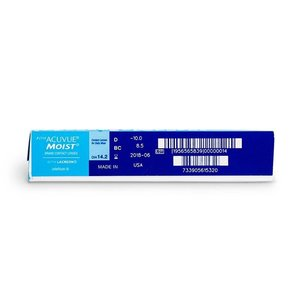 Acuvue 1-Day Moist - 90 lentilles