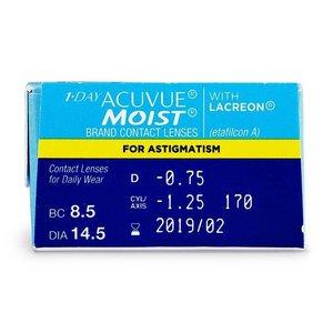 Acuvue 1-Day Moist Astigmatism - 30 lentilles