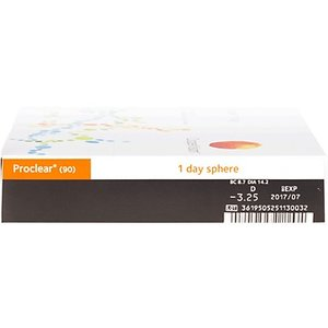 Proclear 1-Day - 90 lenses