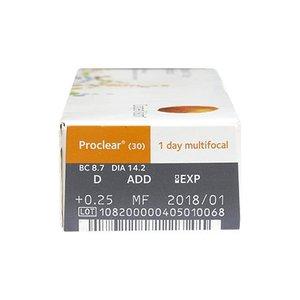 Proclear 1-Day Multifocal - 30 lenzen