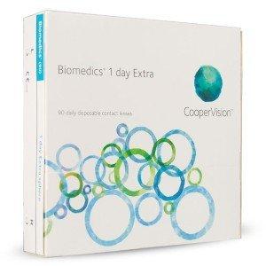 Biomedics 1-Day Extra - 90 lentilles