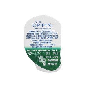 Air Optix Aqua Astigmatism - 3 lenzen