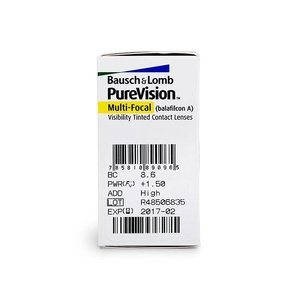 Purevision Multifocal - 6 lentilles