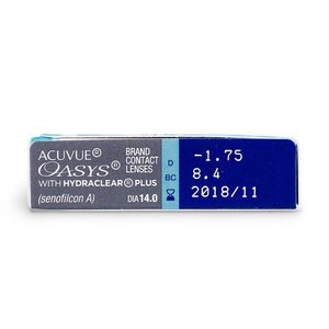 Acuvue Oasys - 12 lenzen
