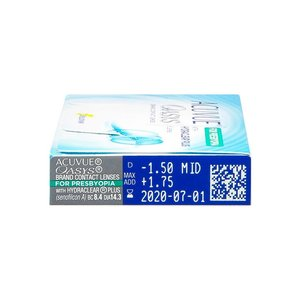 Acuvue Oasys for Presbyopia - 6 lenses