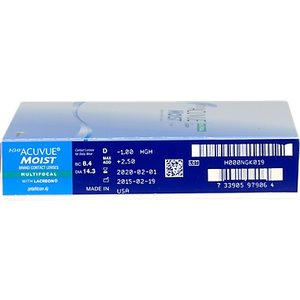 Acuvue 1-Day Moist multifocale - 90 lentilles