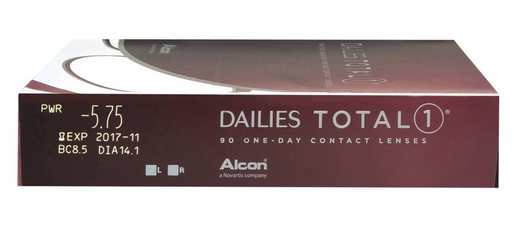 Dailies Total 1 - 90 lentilles - Weblens - Lentillesweb - Lentilles ... 1b7f09479f07