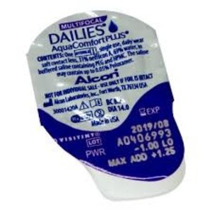 Dailies AquaComfort Plus Multifocal - 90 lentilles