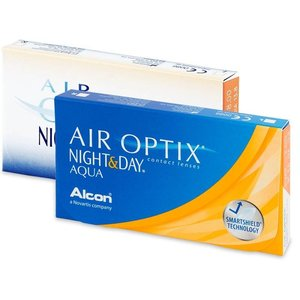 Air Optix Night & Day Aqua - 3 lenzen