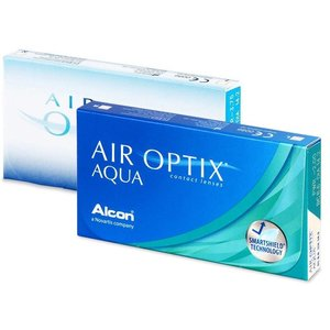 Air Optix Aqua - 6 lenzen