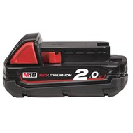 Milwaukee M18B2 Accu 18V / 2.0 Ah Red Li-Ion