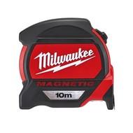 Milwaukee Magnetische rolbandmaat  10m.