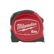 Milwaukee Rolbandmaat Slimline 8m- 25mm