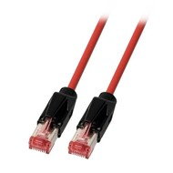 RJ45 Patchkabel 2xHRS TM21 PIMF PUR rot UC900MHz 2 Meter