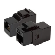 Modular-Adapter Cat.6 UTP Snap-In, RJ45 Bu/Bu, 1:1