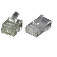 Modular Stecker UTP E-MO 4/4 SF RJ10  VPE100