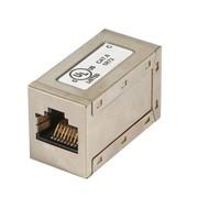 Modular-Adapter Cat.6 STP,RJ45 Buchse/Buchse, 1:1