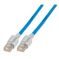 INFRALAN® VC45 Patchkabel Class.EA S/FTP , 7m, blau