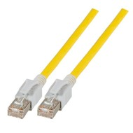 INFRALAN® VC45 Patchkabel Class.EA S/FTP , 1,0m, gelb