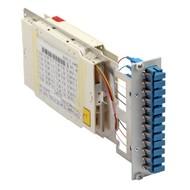 Moduleinschub 6 x LC dpx blau, 12xLC/UPC OS2,3HE/7TE bestückt