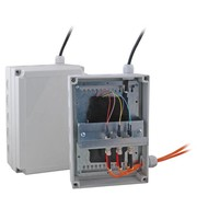 LWL Spleißbox Gehäuse IP66 Farbe grau