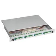 Spleißbox E2000®/APC 9/125µ na 24 Pigtails / 24 kUPP OS2