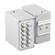 Frontblende für 6 x SC-Duplex mit 2,8mm Ø  für 53705.1V3