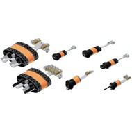 Zubehör Kabeleinführung rund 8x6mm Eingänge, 0-6mm