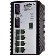 Hutschienen-Switch -20°~+60°C 8x10/100TX+2x100FX SC SM, SNMP