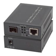 Media Converter 1x100/1000Mbit Rj45, 1 x Gigabit SFP Port