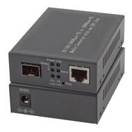 Media Converter 2 x SFP Gigabit Ports